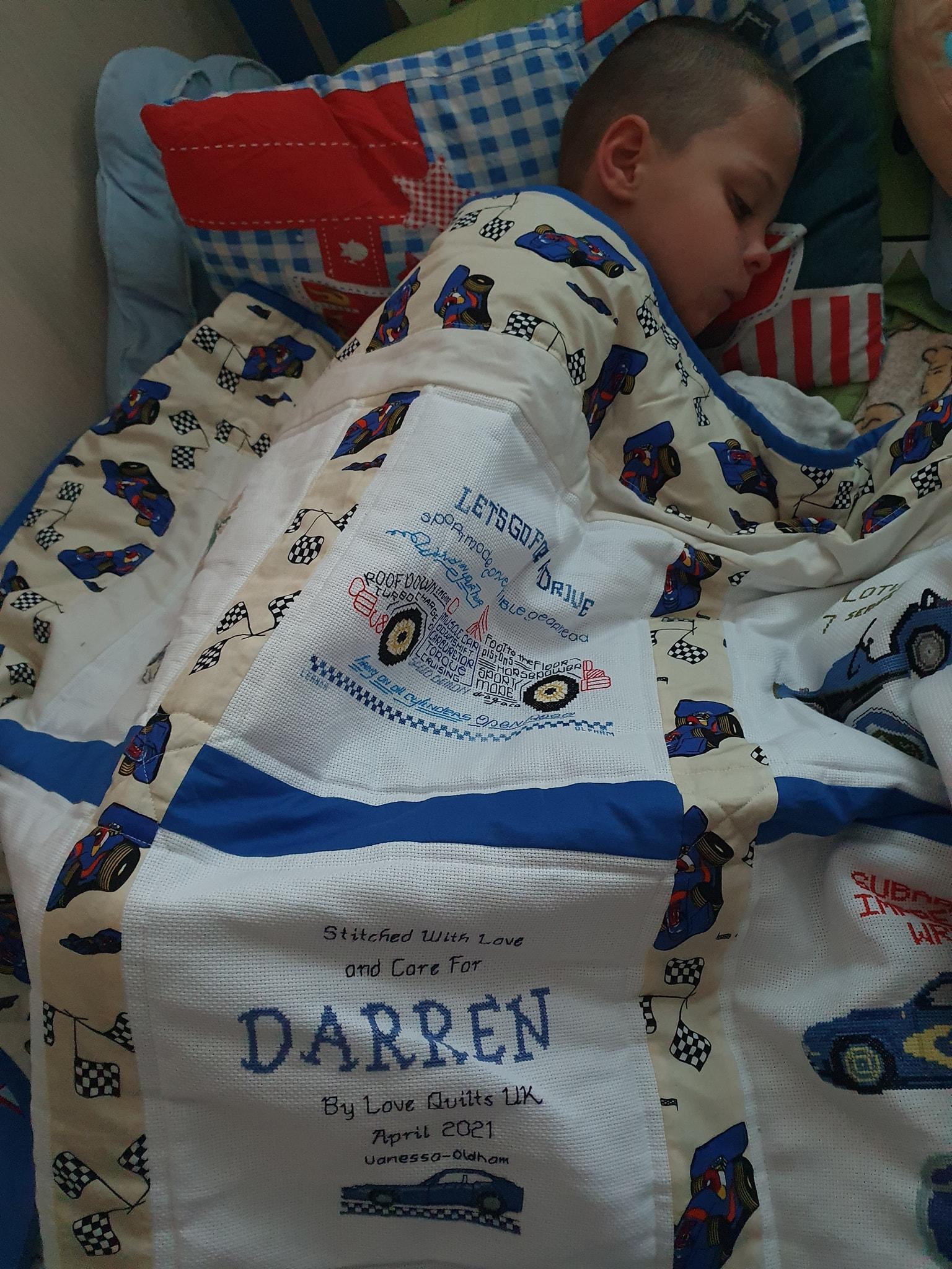 Photo of Darren K's quilt