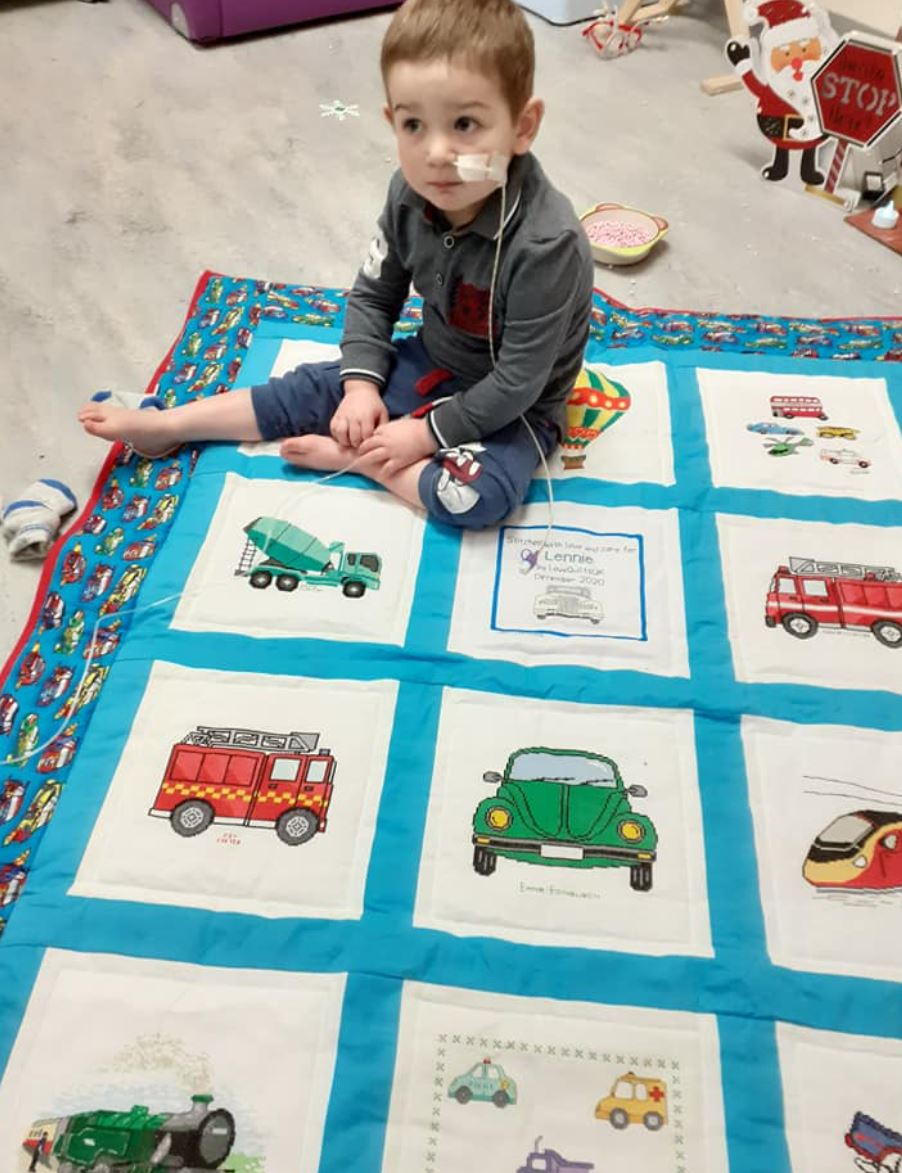 Photo of Lennie E's quilt