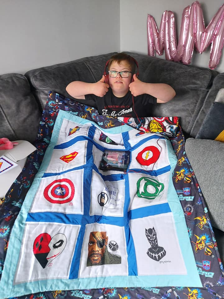 Photo of Archie P's quilt