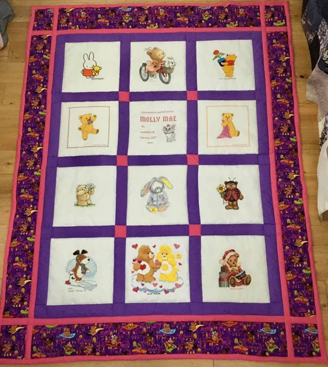 Photo of Molly Mae's quilt