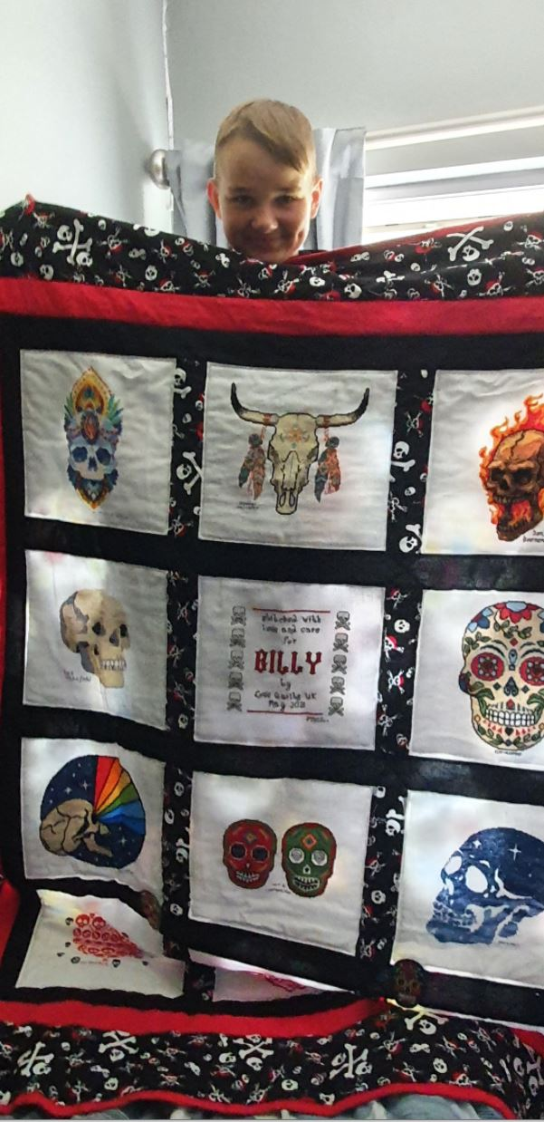 Photo of Billy G's quilt