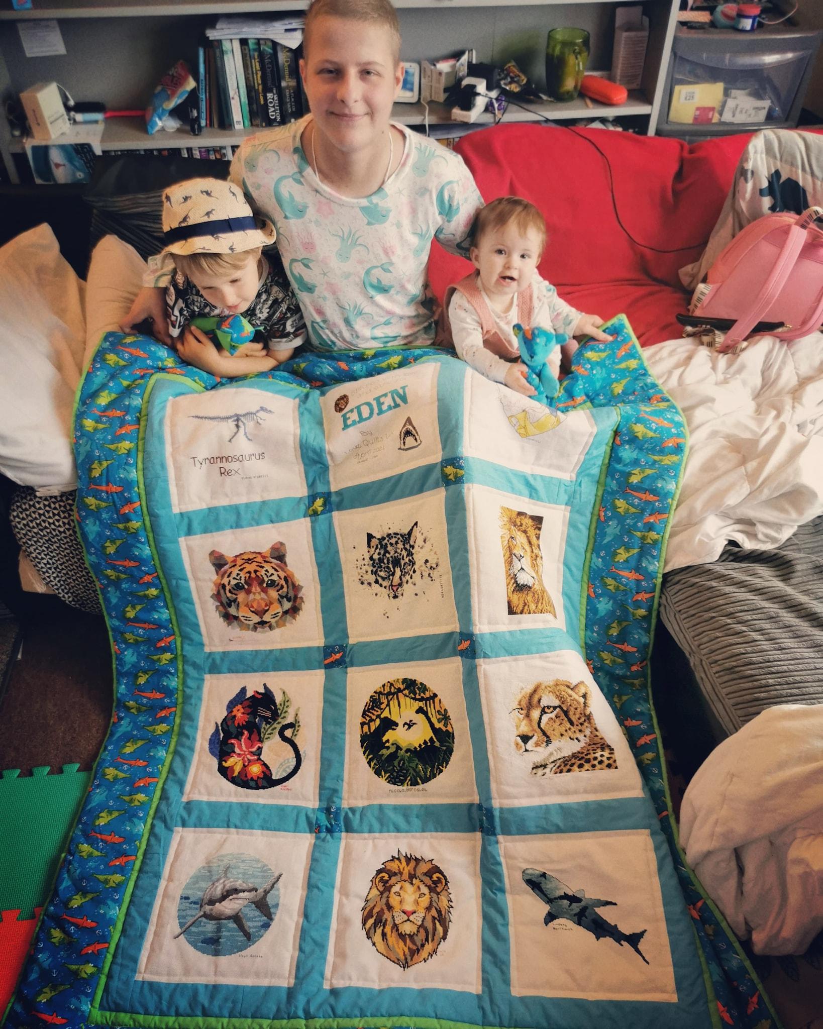 Photo of Eden B's quilt