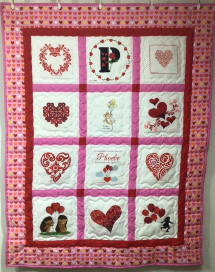 Photo of Phoebe A's quilt