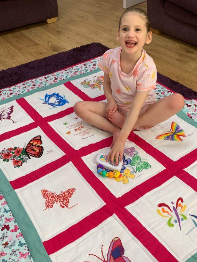 Photo of Annie B's quilt
