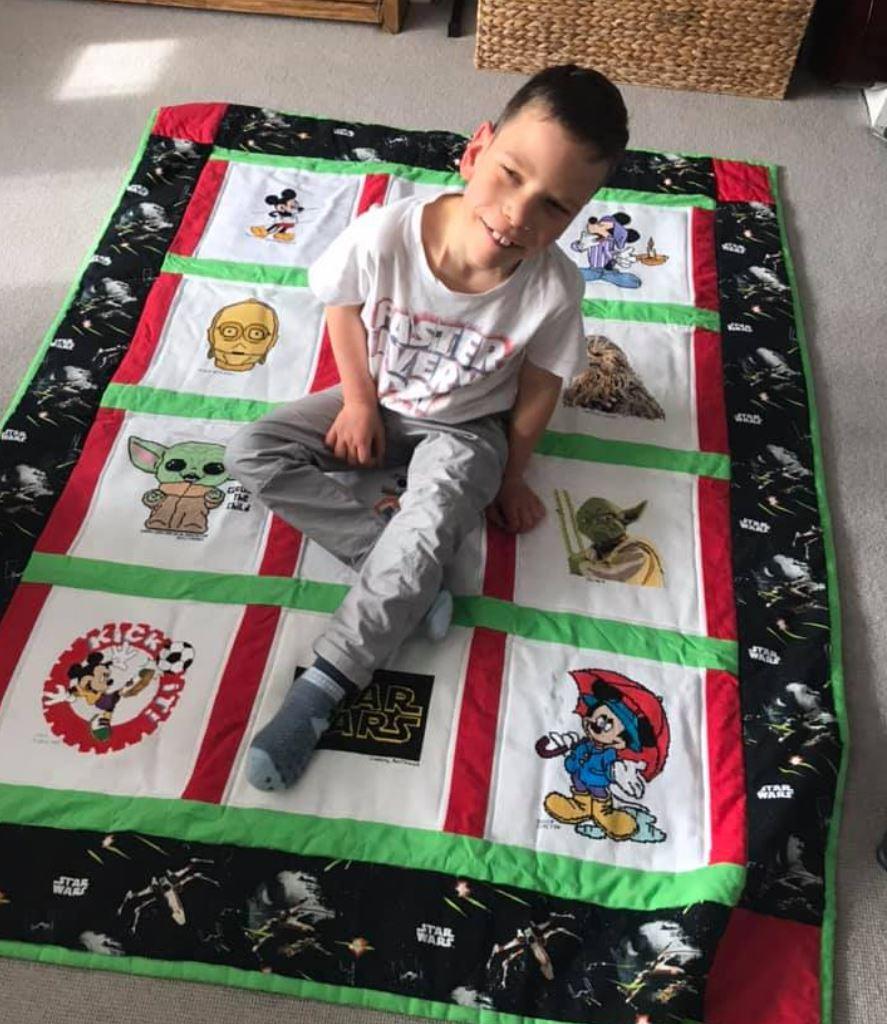 Photo of William R's quilt