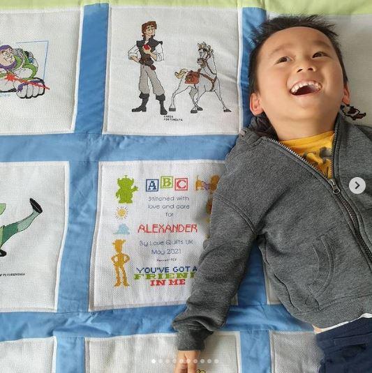 Photo of Alexander P's quilt