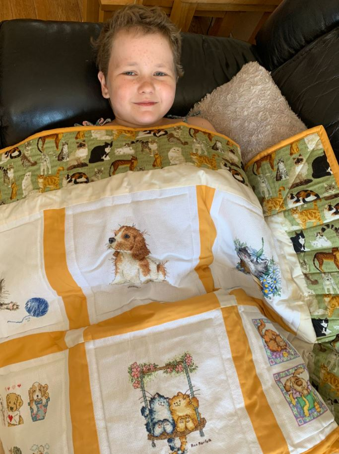 Photo of Molly B's quilt