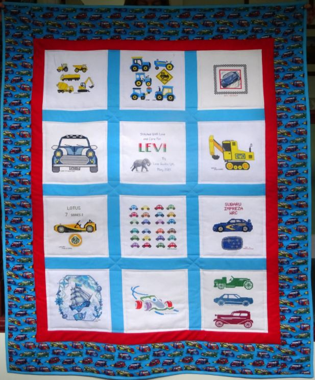 Photo of Levi L's quilt