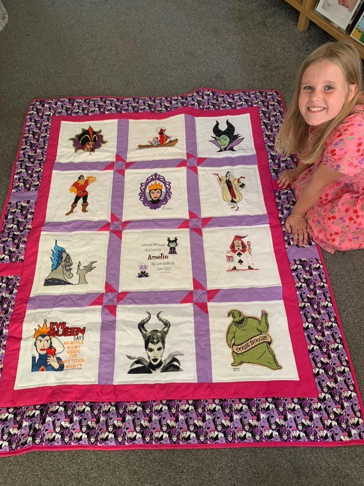 Photo of Amelie C's quilt