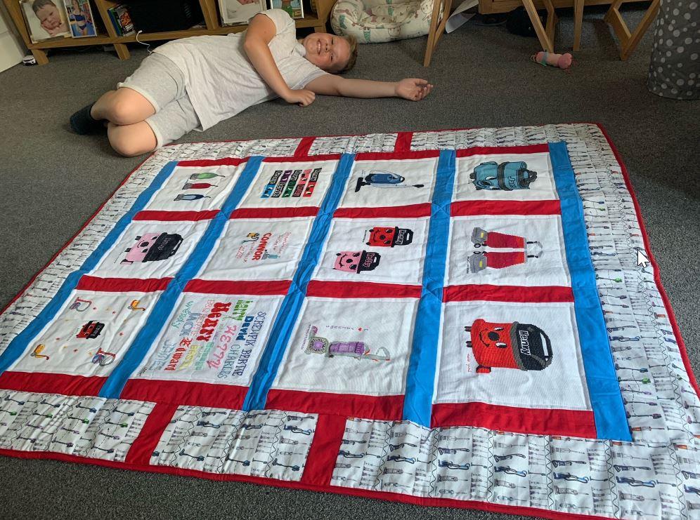 Photo of Connor C's quilt