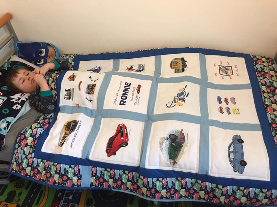 Photo of Ronnie G's quilt
