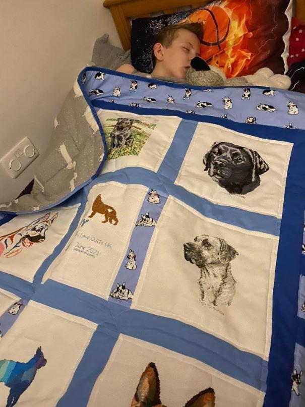 Photo of Boy's quilt