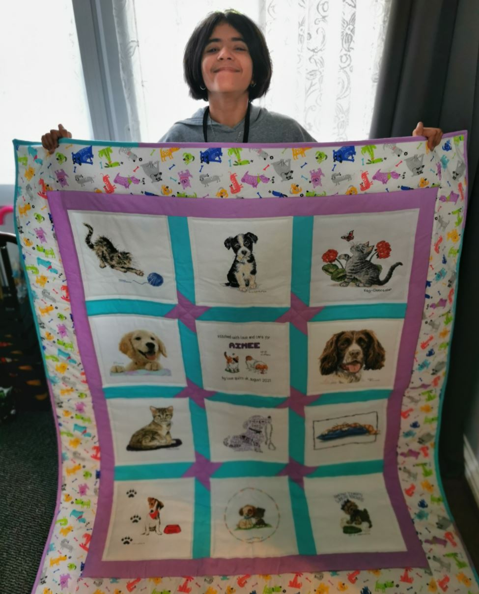 Photo of Aimee N's quilt