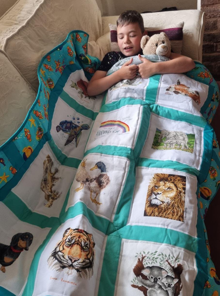 Photo of Rowan I's quilt