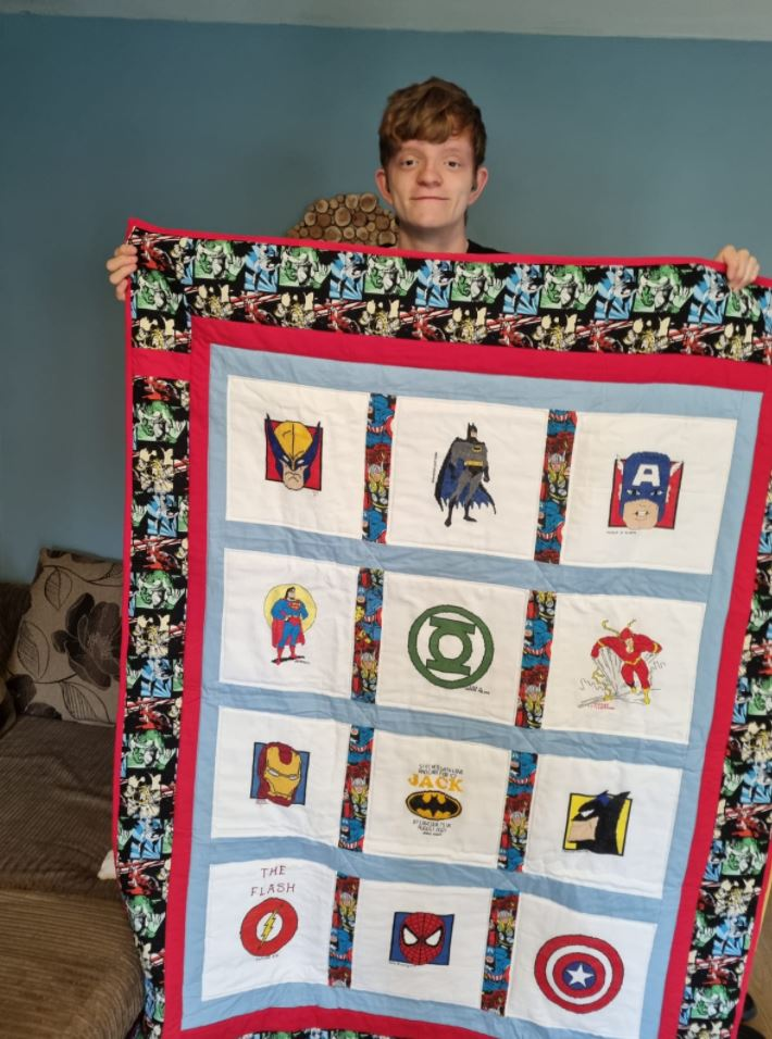 Photo of Jack B's quilt