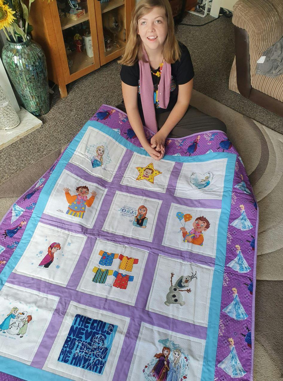 Photo of Jorja B's quilt