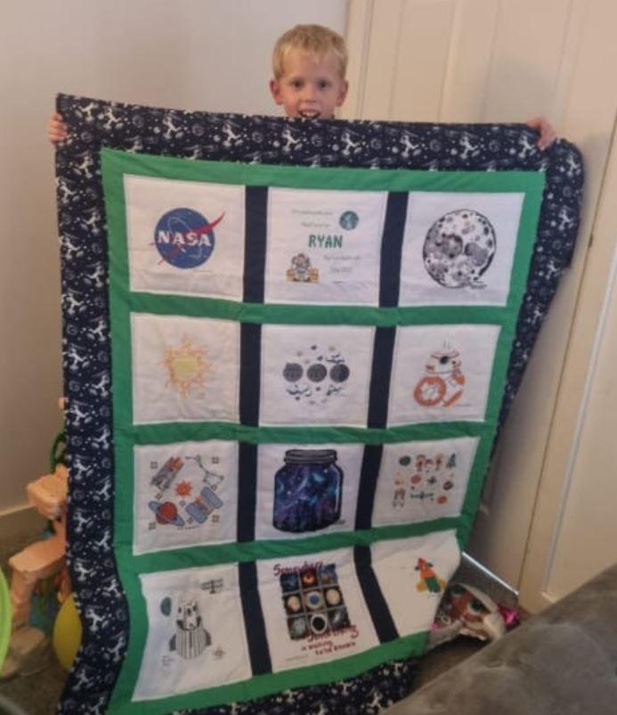 Photo of Ryan W's quilt