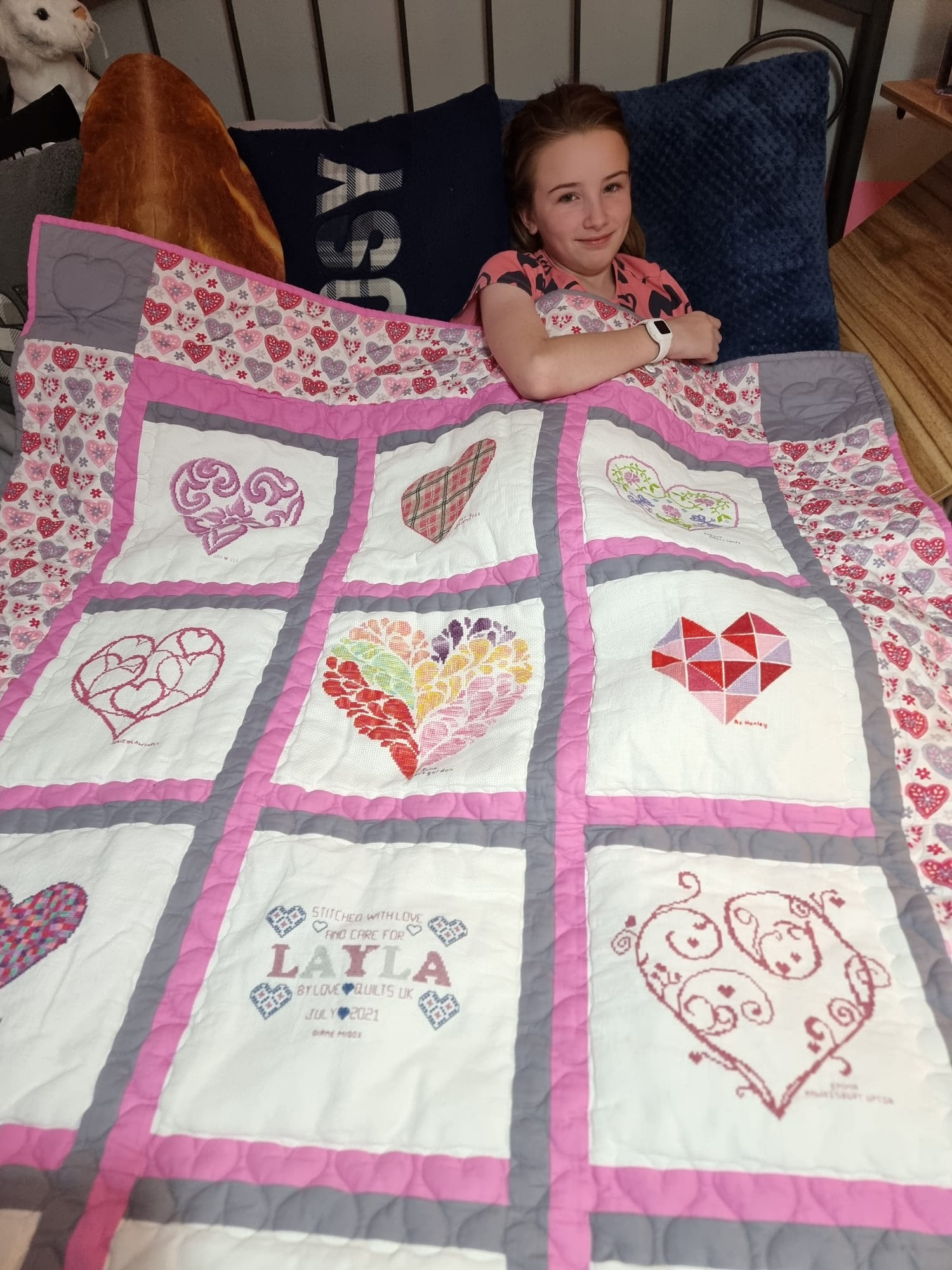 Photo of Layla E's quilt