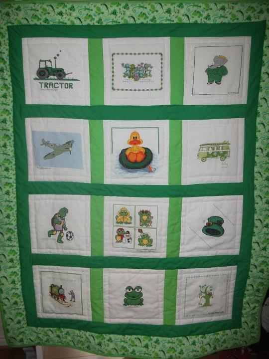 Photo of Aiden D's quilt