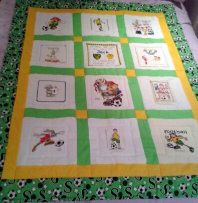 Photo of Jack P's quilt