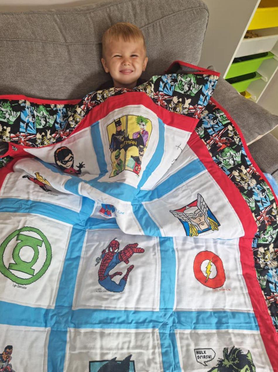 Photo of Alfie P's quilt