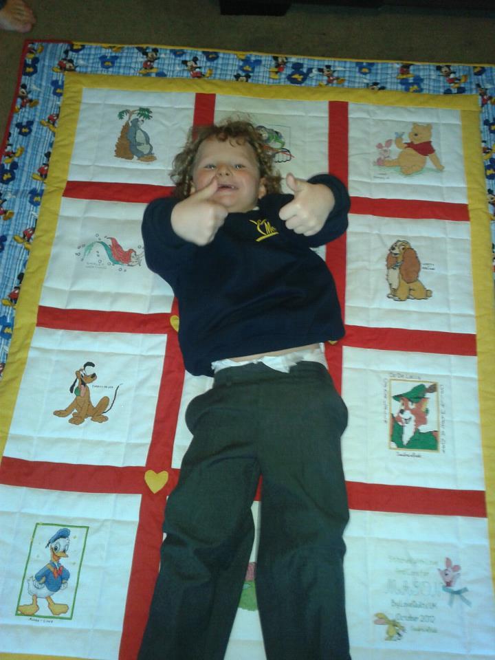 Photo of Mason M's quilt