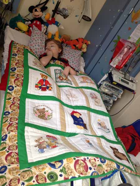 Photo of Archie J's quilt