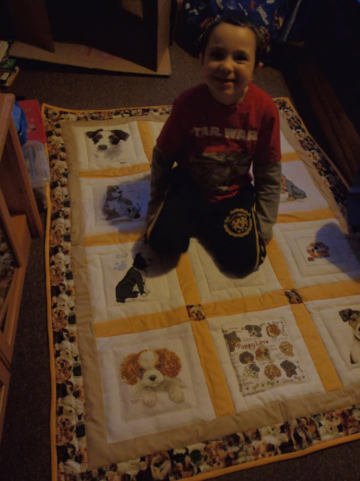 Photo of Aidan T's quilt