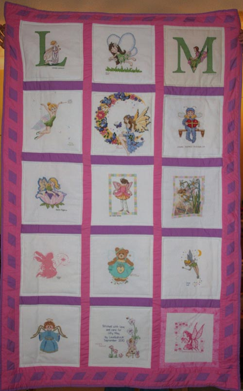 Photo of Lilly May Ts quilt