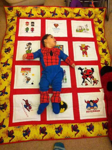 Photo of Daniel L's quilt