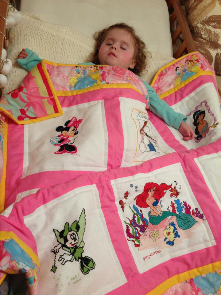 Photo of Evie-Mae's quilt