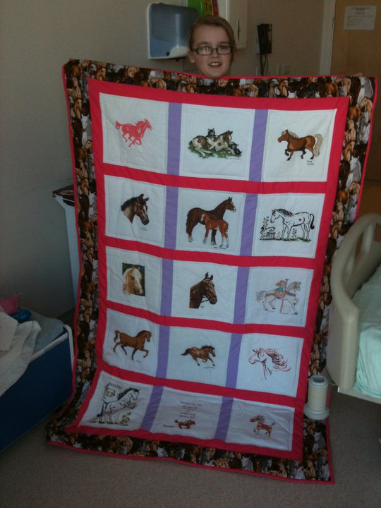 Photo of Elizabeths quilt