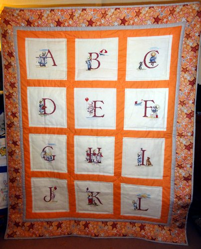 Photo of Niamh A's quilt