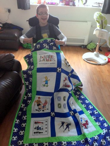 Photo of Luke-James's quilt