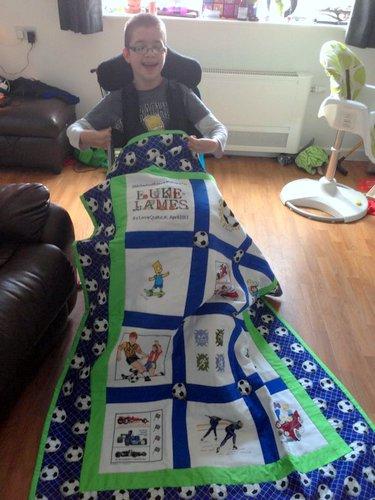 Photo of Luke-James's quilt