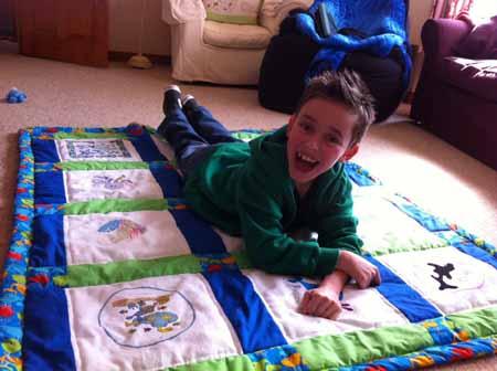 Photo of Benjamin H's quilt