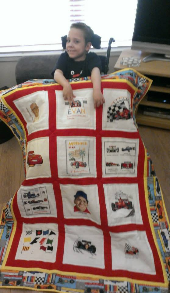 Photo of Evan M's quilt