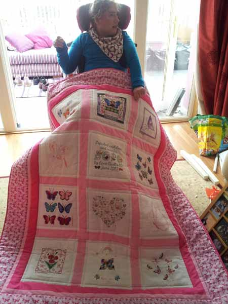Photo of Hope W's quilt