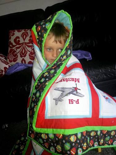 Photo of Alex W's quilt