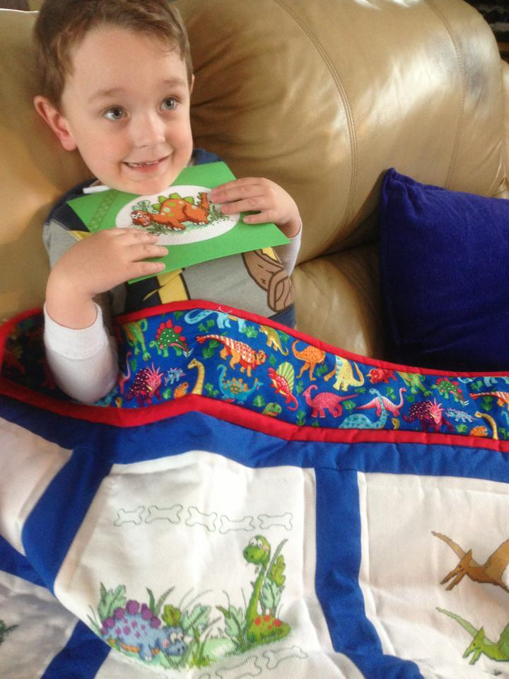 Photo of Theo C's quilt