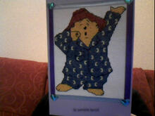 Card for (QUILTED) Circles 3 (Teddies)