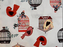Fabric for (QUILTED) Birds