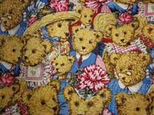 Fabric for (QUILTED) Circles 3 (Teddies)