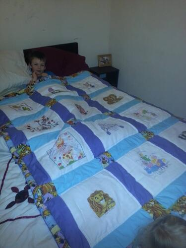 Photo of Paddy Bs quilt