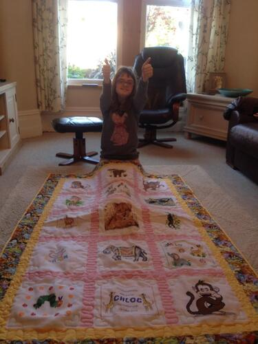 Photo of Chloe Rs quilt