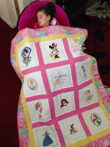 Photo of Tammy Os quilt
