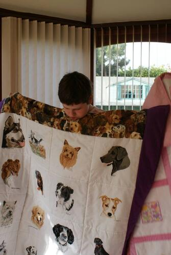 Photo of Alice Ps quilt