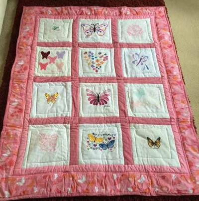 Photo of Gracie-Mae Fs quilt