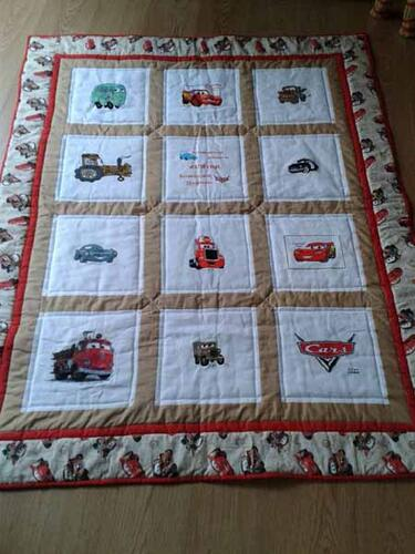 Photo of Junior Ws quilt