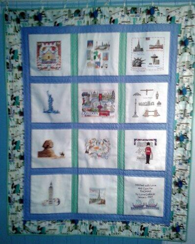 Photo of Thomas Ss quilt